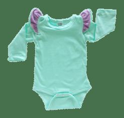 Mint Triflutter Long Sleeve fluttersuit