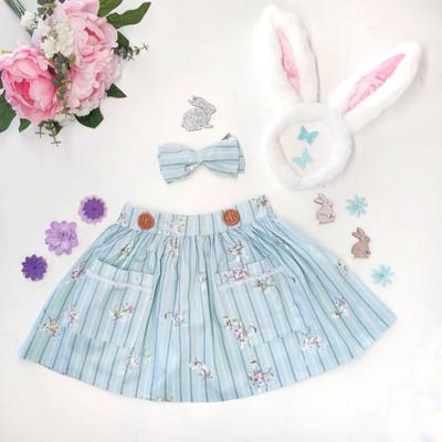 Pastel Blue Easter Skirt