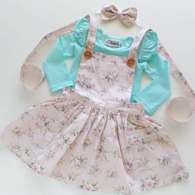 Charleston Pinny - girls Dresses Australia