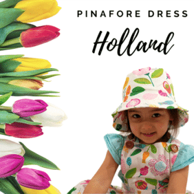 Vibrant Floral Girls Dress Australia