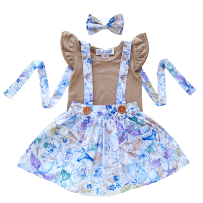 girls Suspender skirt australia