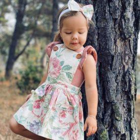 Providence Pinafore Dress - New Girls Dresses Australia