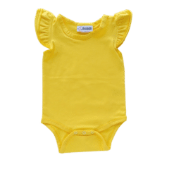 dark yellow Flutter leotard suit onesie