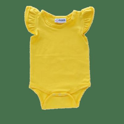 dark yellow Flutter leotard suit onesie