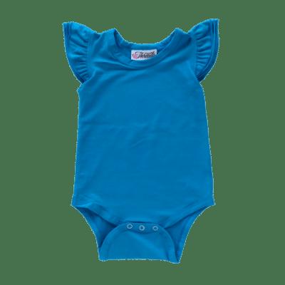 Ocean Blue Flutter leotard suit onesie