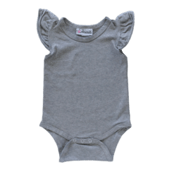 dark frosted grey Flutter leotard suit onesie