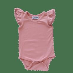 Spanish Pink Flutter leotard suit onesie