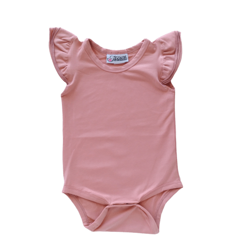 Spanish Pink Flutter leotard suit onesie