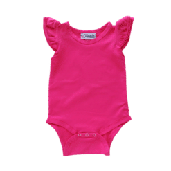 Dark Pink Flutter leotard suit onesie