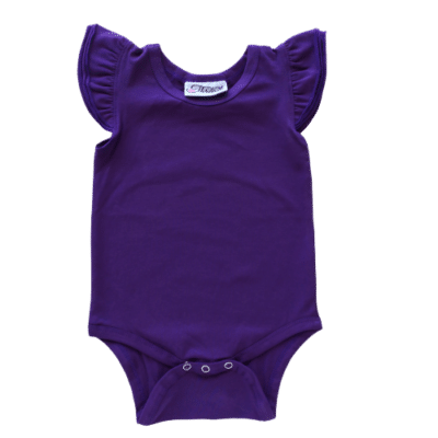 dark purple Flutter leotard suit onesie