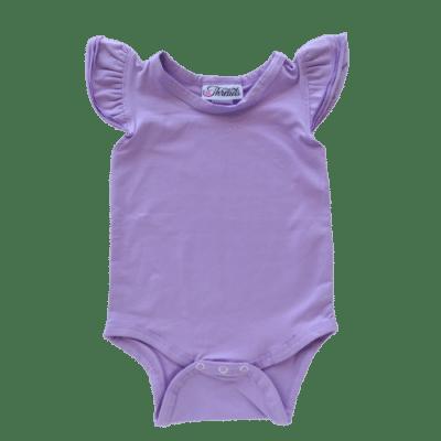 Lavender Flutter leotard suit onesie