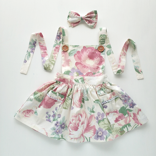 Providence Pinafore Dress - New Girls Dresses Australia
