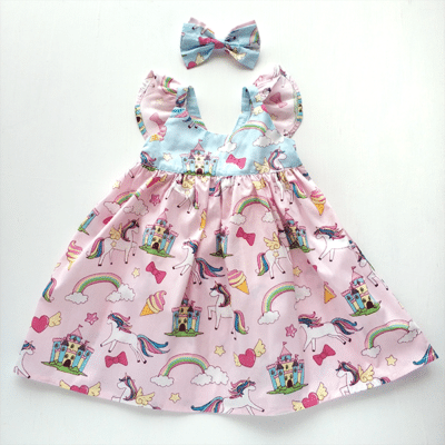 Pretty Unicorn Dress