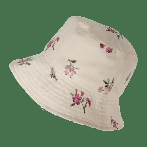 Tucson Little Print - Floral Cream Bucket Hat
