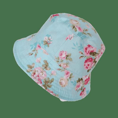Cincinnati - Floral Blue Bucket Hat