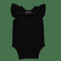 black Flutter leotard suit onesie