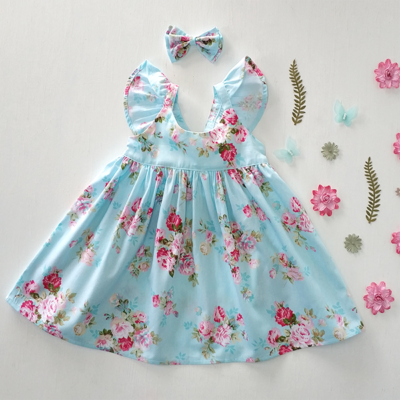 PrettyGirs Floral dress