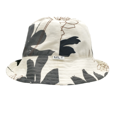 Atlanta Black and Cream bucket sun hat Australia