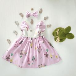Easter Dress - bunny dress