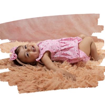 Baby Girl pink romper instagram