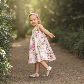 beautiful girls summer dress my little threads