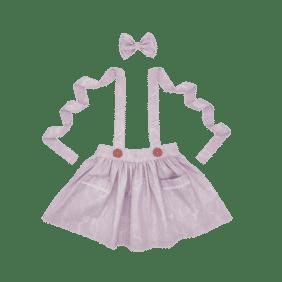 lilac suspender skirt gold coast kids clothing