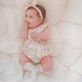 Honolulu playsuit flutter baby girls clothing gold coast australia